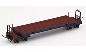 Wagon plat marron